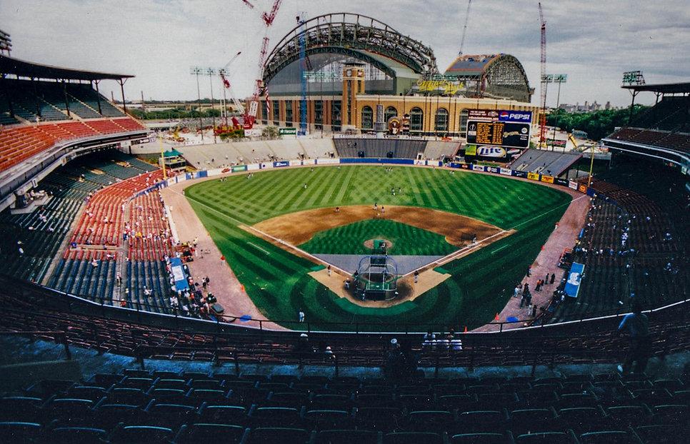 County Stadium, Milwaukee, WI