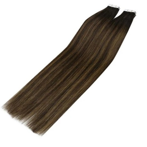 Brown Sugar - Classic Tape In Extensions