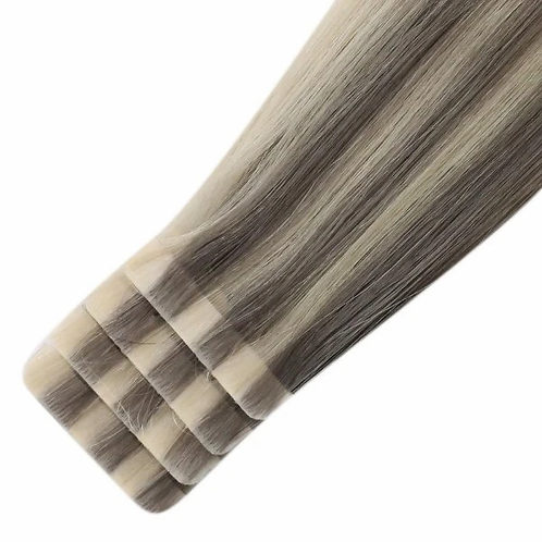 Ash Blonde - Seamless Invisible Tape Extensions