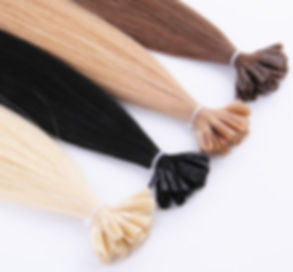 Individual Bond Fusion Hair Extensions