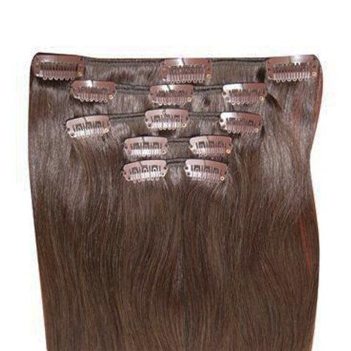 5 Piece Clip In Set - Human Hair