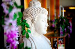 Buddhist statute