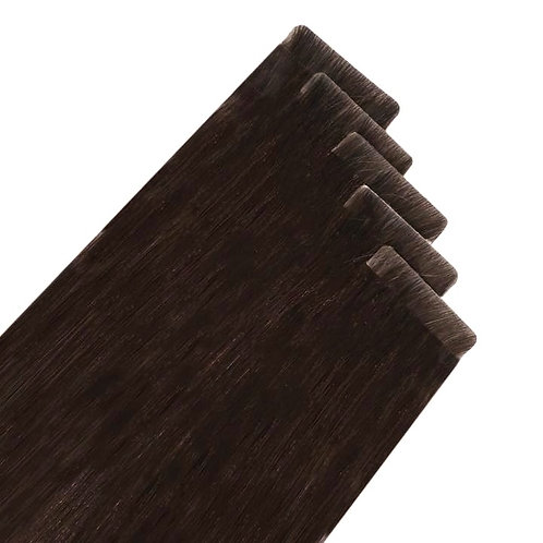 Chocolate Brown Seamless Invisible Tape Extensions