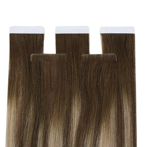 Brown Sugar - Seamless Invisible Tape Extensions