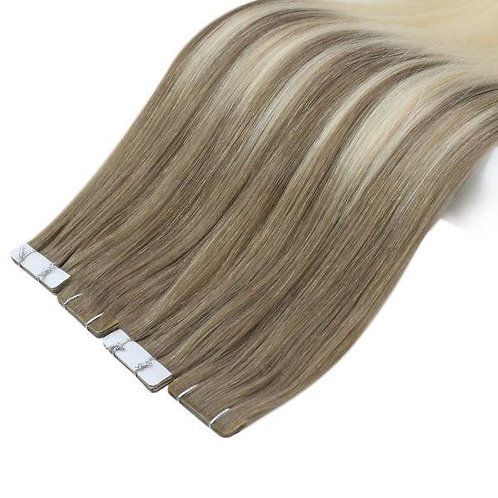 Beach Blonde Balayage - Seamless Invisible Tape Extensions