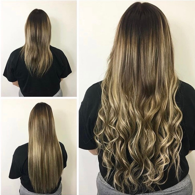 Micro Bead Weft Extensions