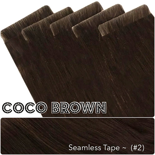 Coco Seamless Invisible Tape Extensions