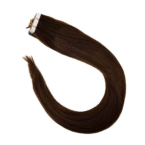 Chocolate Brown - Classic Tape In Extensions