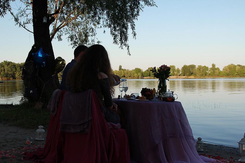 Романтический ужин на набережной. Альтечо 13