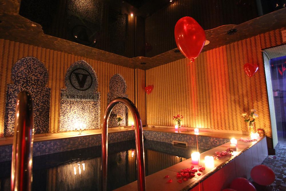 Альтечо, романтический ужин в бассейне 3