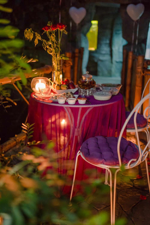 Свидание в тропической оранжерее от сервиса романтики Альтечо, Киев