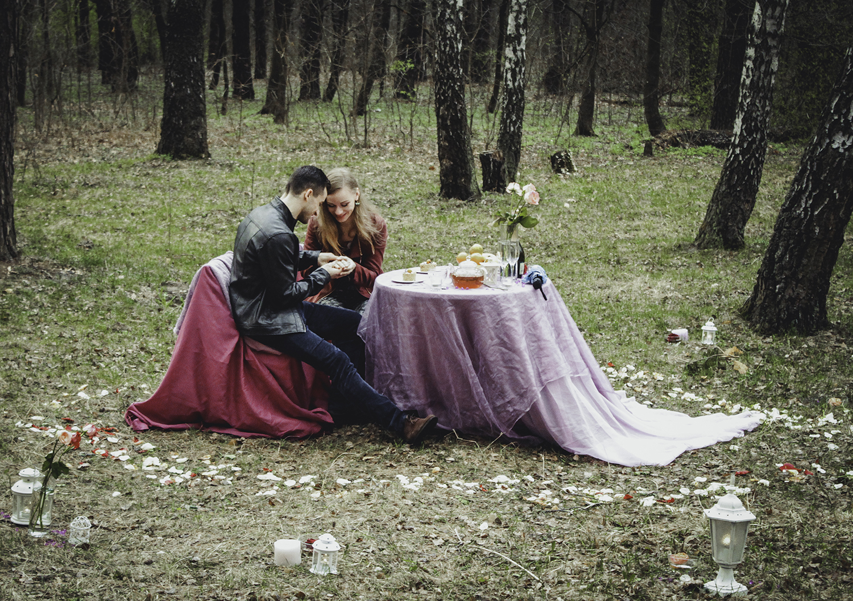 Альтечо, романтический ужин в лесу (19)