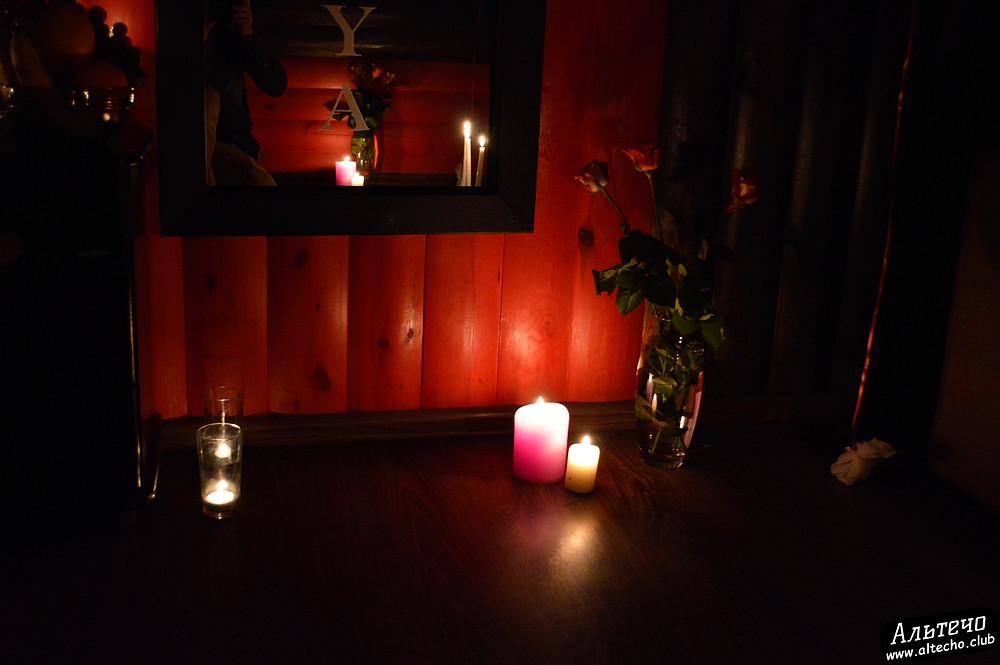 Альтечо, Романтический вечер, Свидание на крыше, ужин для двоих