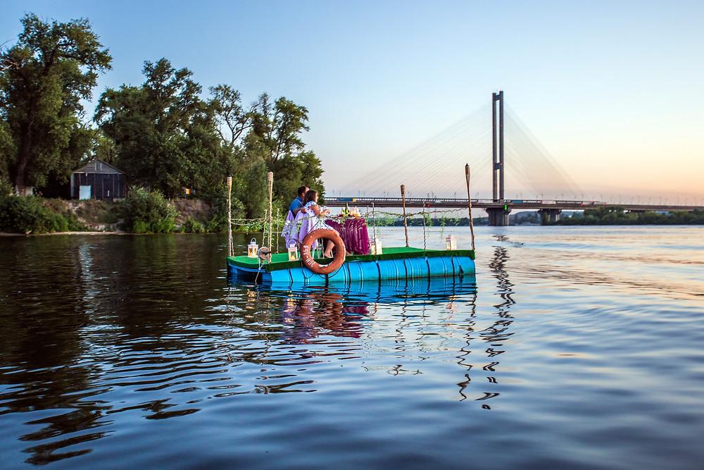 Свидание на плоту, Киев, Альтечо 6