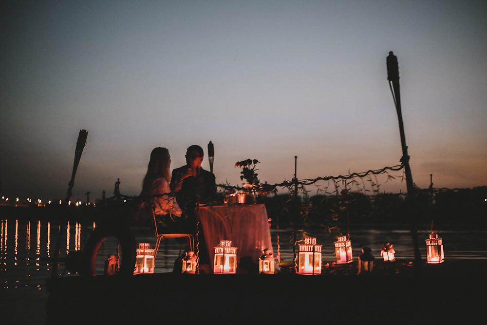 Романтика на плоту, Киев, Сервис романтики Альтечо