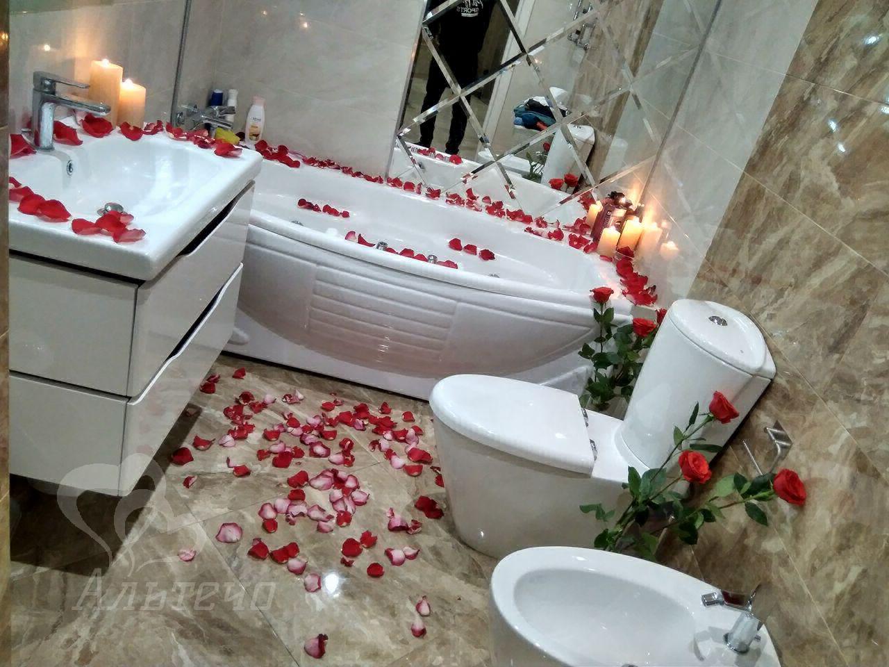 Романтический ужин в ванной, Киев, Альтечо (6)