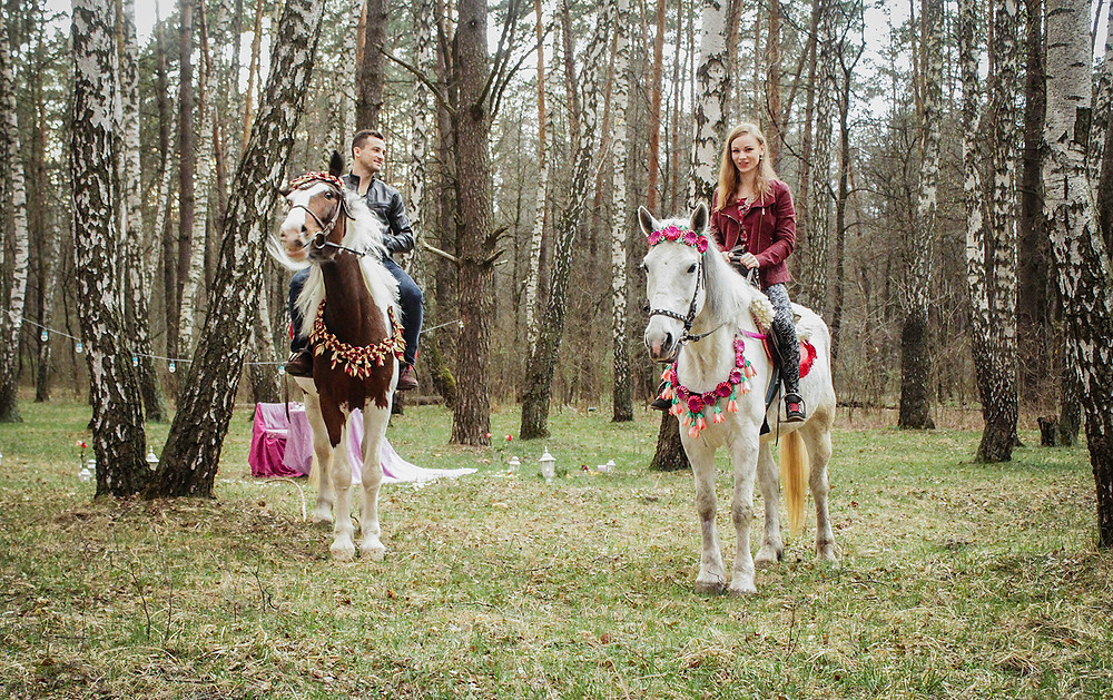 Альтечо, романтический ужин в лесу с прогулкой на лошадях 14