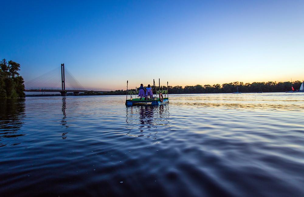 Свидание на плоту, Киев, Альтечо 5