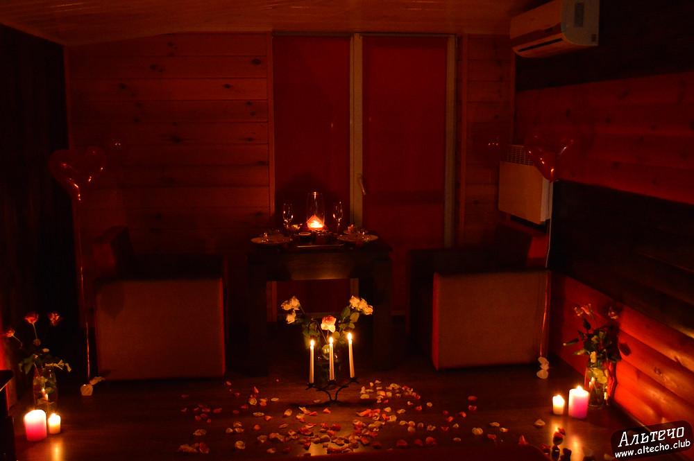 Альтечо, Романтический вечер, Свидание на крыше, ужин для двоих  5