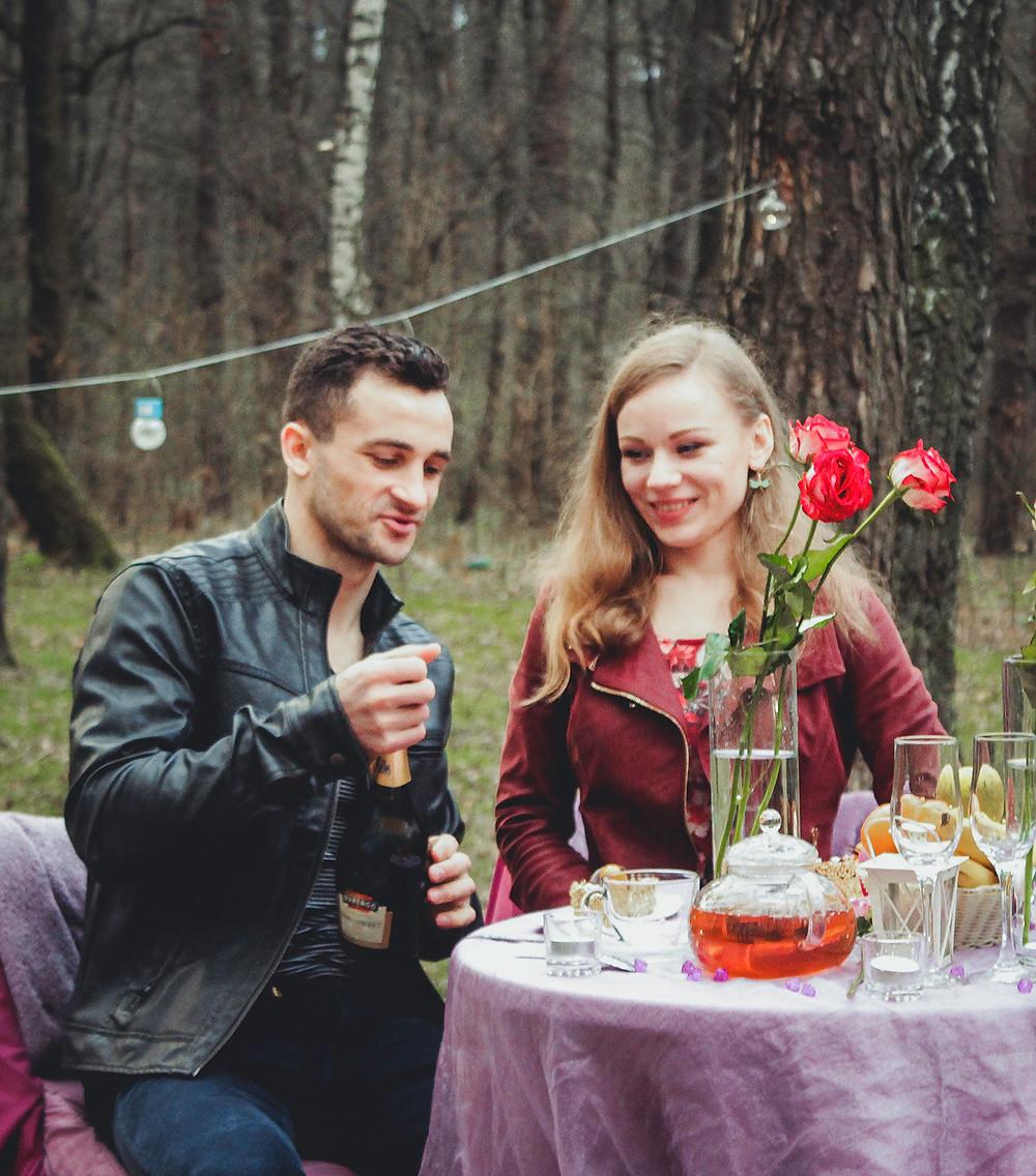 Альтечо, романтический ужин в лесу с прогулкой на лошадях 6