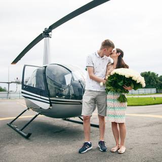 Полет на вертолете для двоих в Киеве