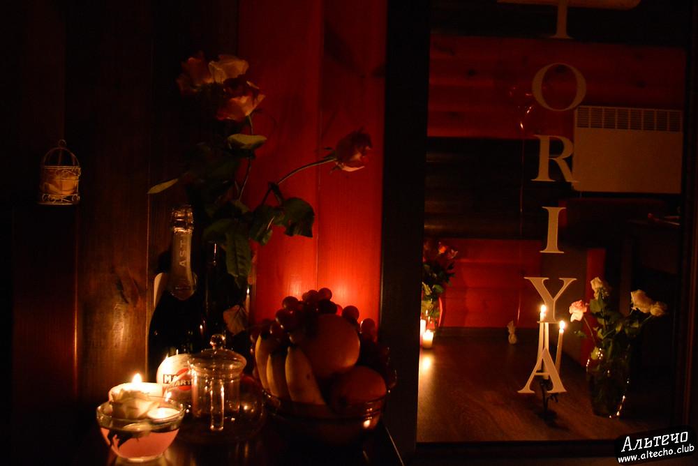 Альтечо, Романтический вечер, Свидание на крыше, ужин для двоих  3