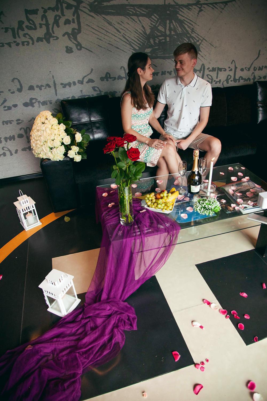 Романтический ужин после полета на вертолёте, Киев, Сервис романтики Альтечо
