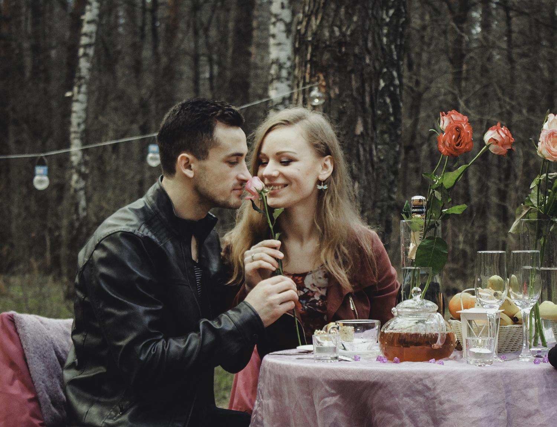 Альтечо, романтический ужин в лесу (30)
