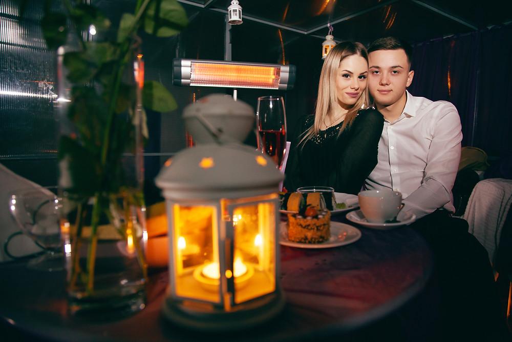 Романтический ужин на 14 февраля, Киев, Альтечо