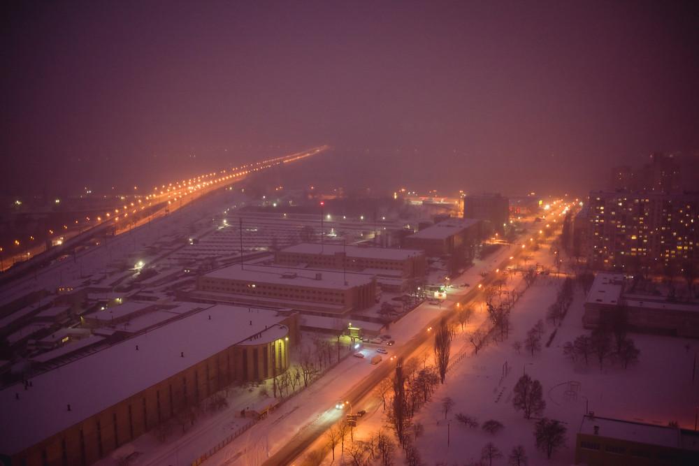 История предложения руки и сердца на крыше, Киев 27