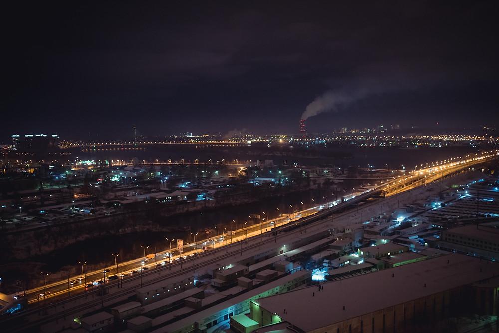 Заснеженный Киев, Свидание на крыше, Альтечо