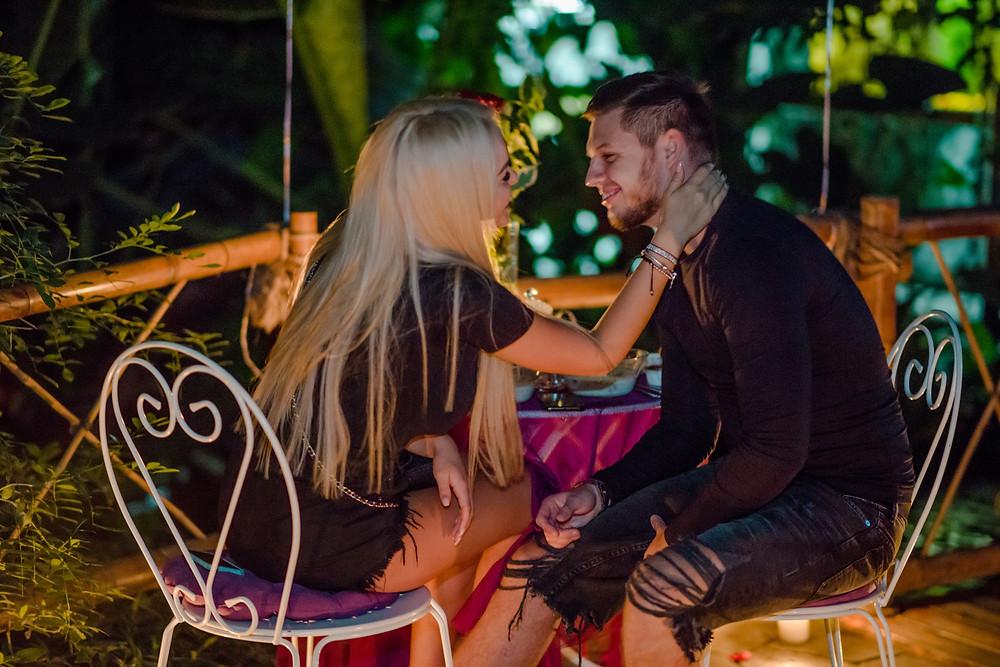Романтический ужин в Джунглях у Водопада от сервиса романтики Альтечо, Киев 7