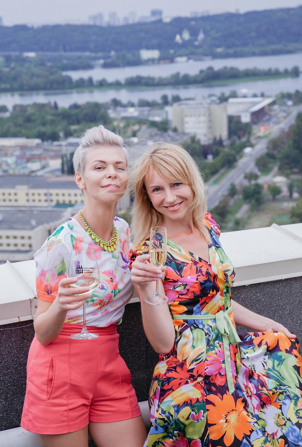 Девичник на крыше, Киев