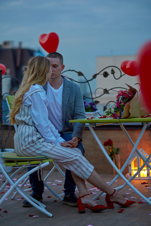 Романтический ужин на террасе от Альтечо