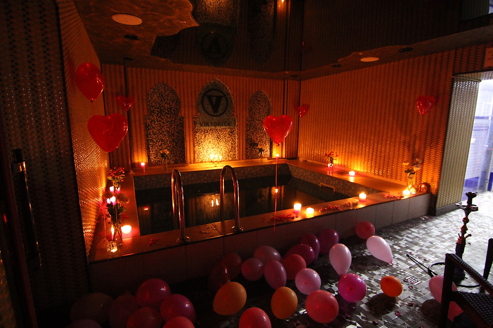 Альтечо, романтический ужин в бассейне 11