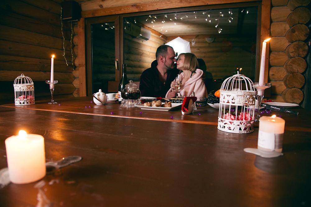 Романтический ужин в Чане Афродиты от сервиса романтики Альтечо, Киев 3