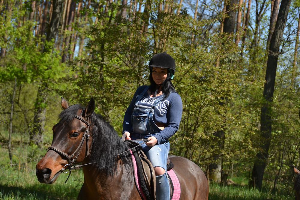 Романтический ужин в лесу с прогулкой на лошадях, Киев, Сервис романтики Альтечо 4
