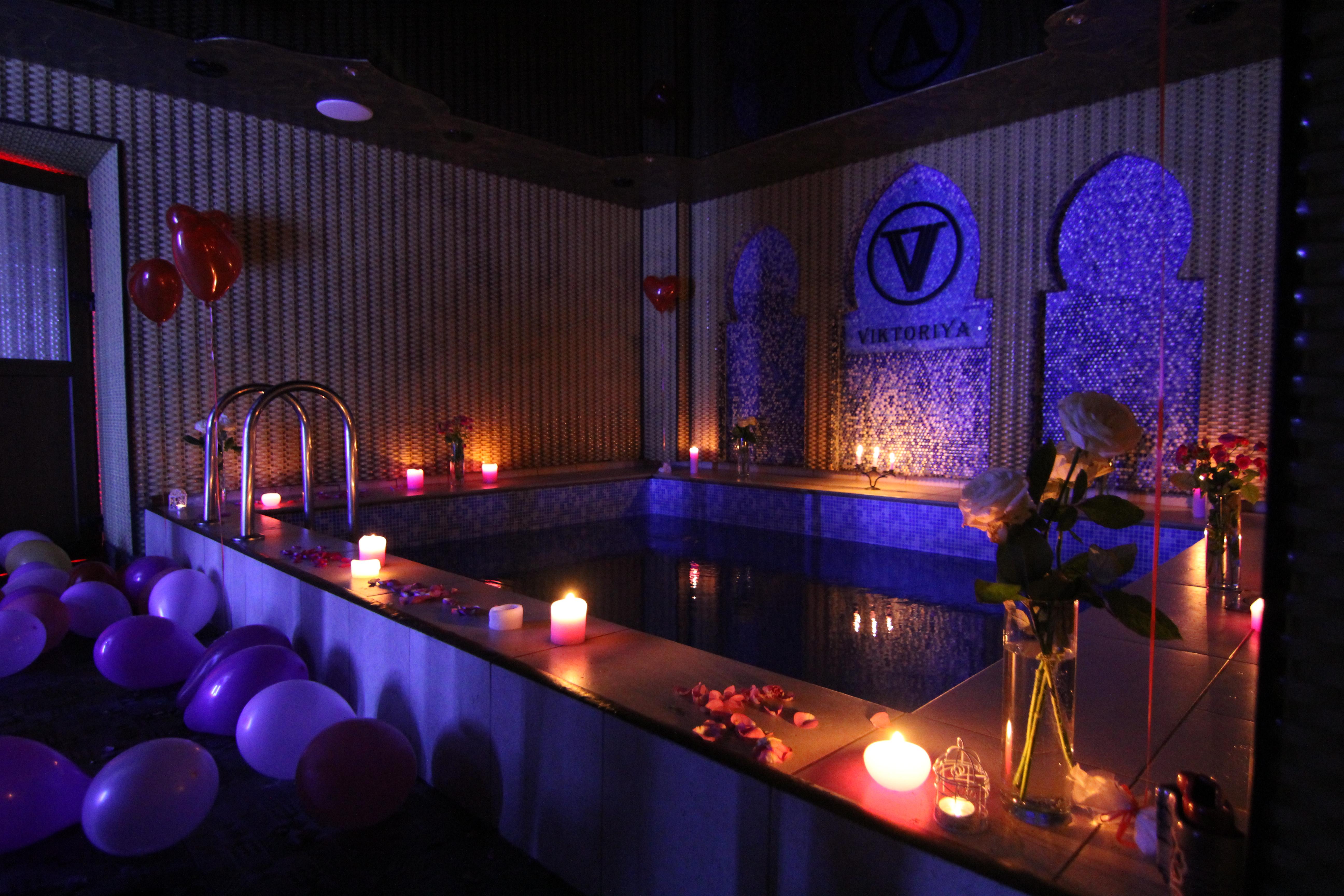 Альтечо, Романтический ужин в бассейне (15)