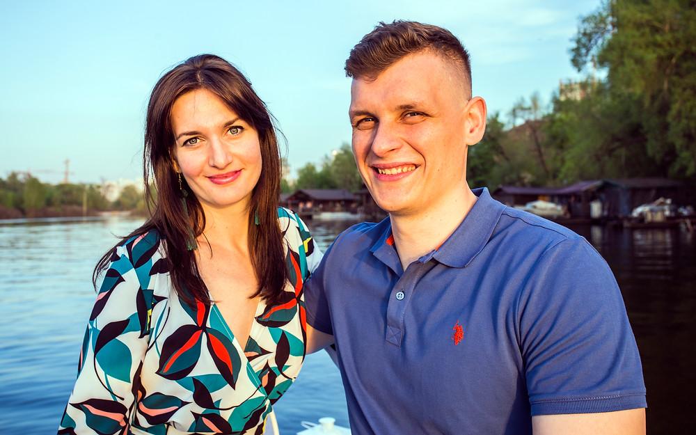 Романтический ужин на плоту, Киев, сервис романтики Альтечо 1