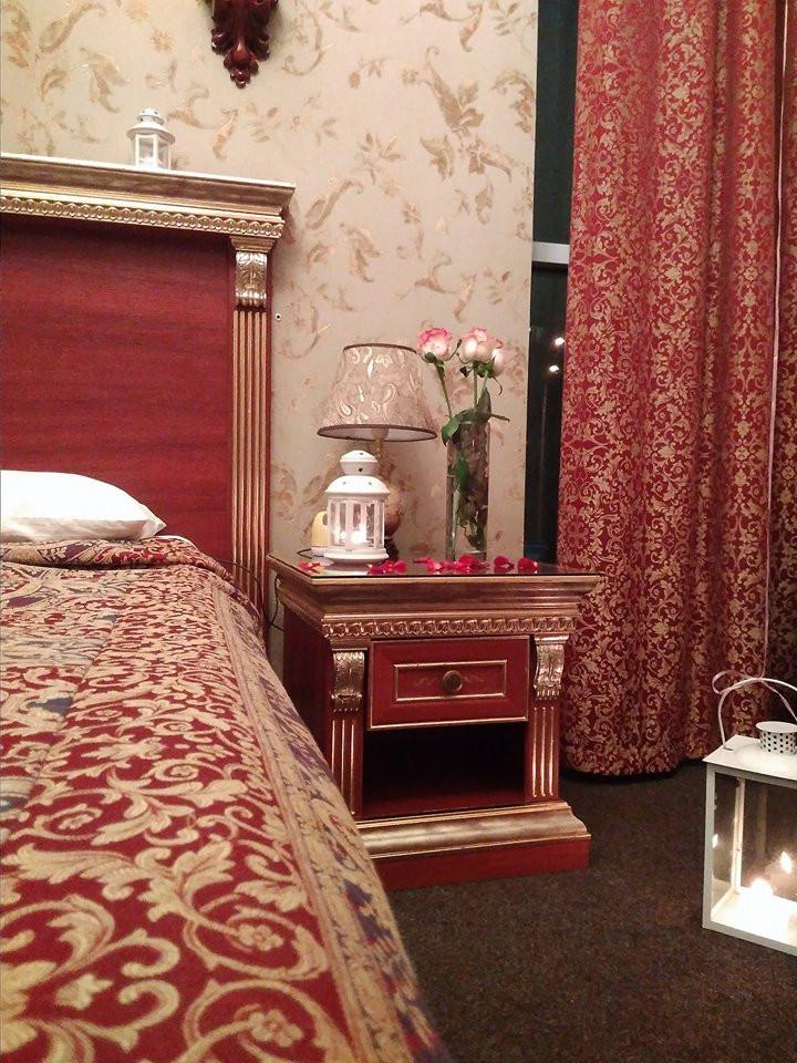 Романтический ужин для двоих в номере отеля, Киев, Альтечо