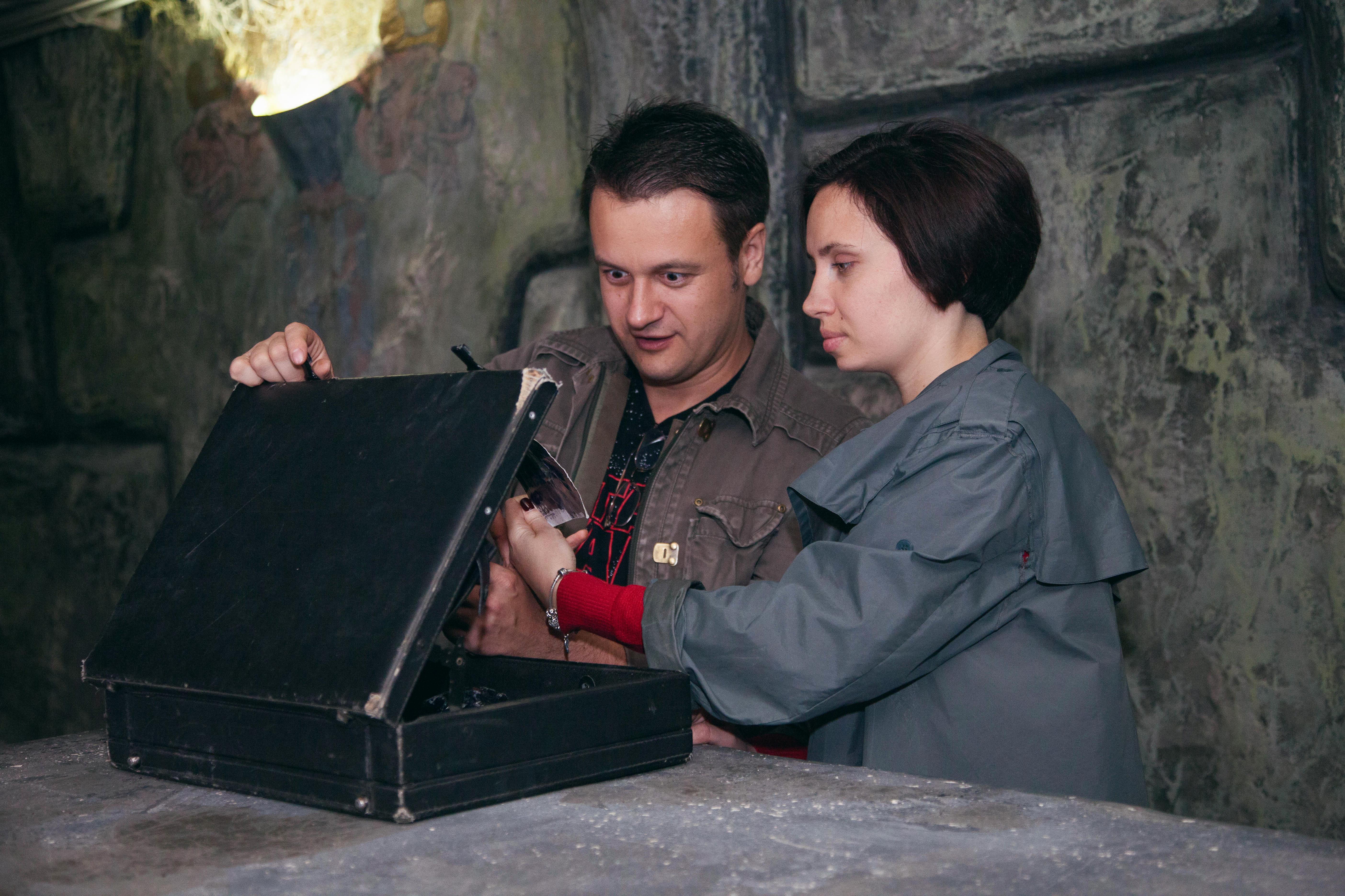 Романтический ужин в подземелье от сервиса романтики Альтечо (7)