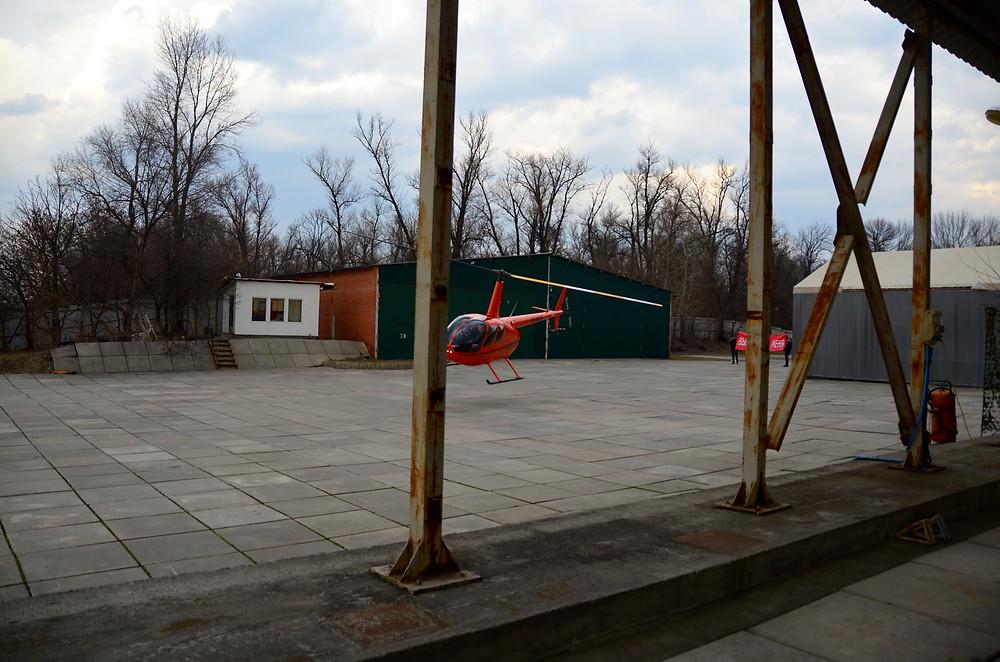 Покататься на вертолете в Киеве