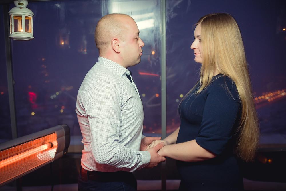 История предложения руки и сердца на крыше, Киев 17