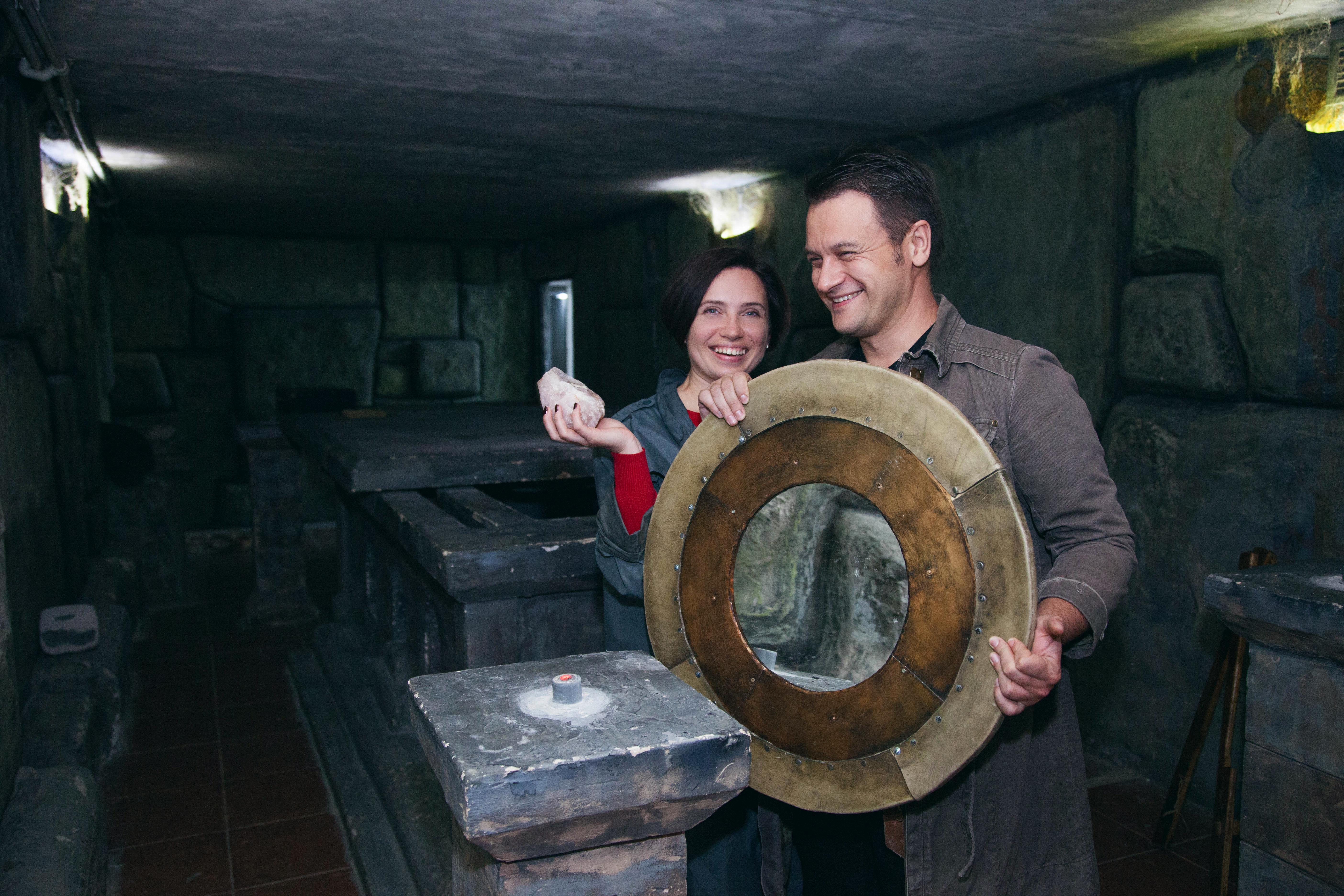 Романтический ужин в подземелье от сервиса романтики Альтечо (6)