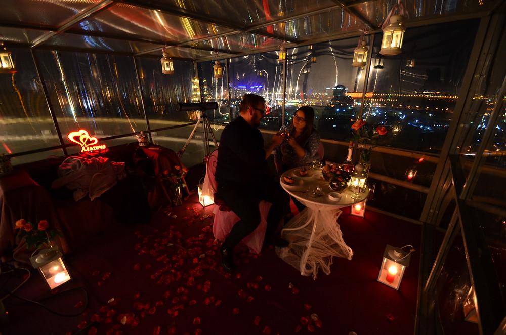 Романтический ужин в новогоднюю ночь, Киев,Альтечо