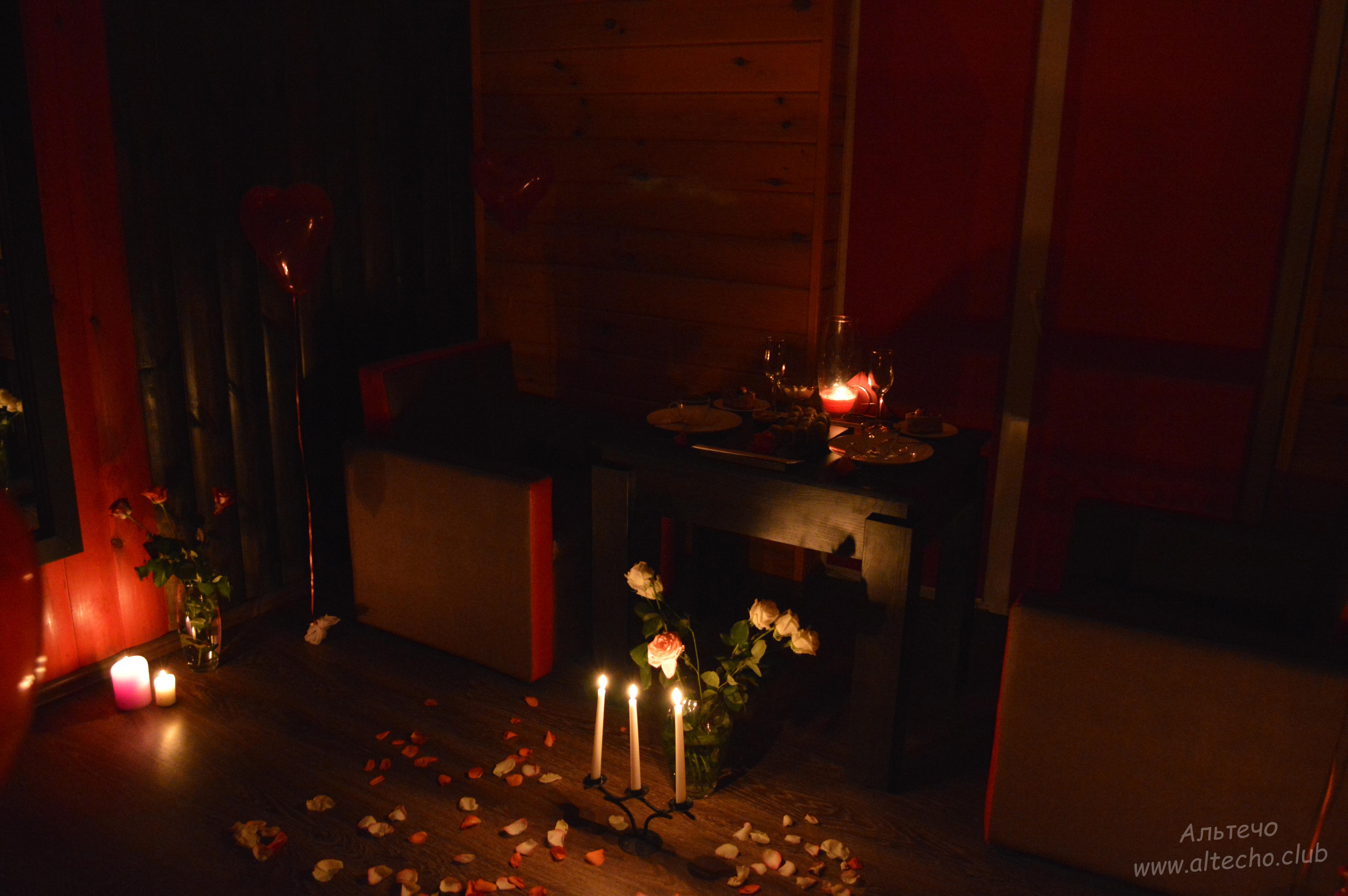 1 Альтечо, Романтический вечер, Свидание на крыше, ужин для двоих   (15)