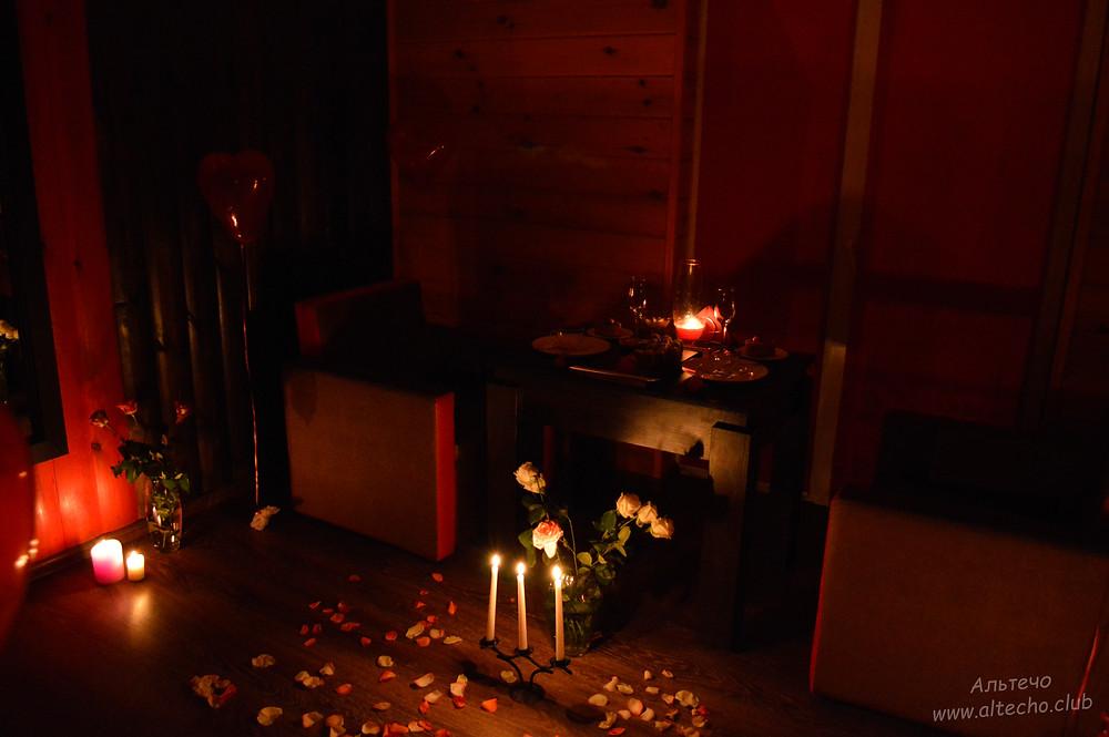 Альтечо свидание на крыше, романтический ужин, вечер для двоих, ресторан для двоих, романтическое свидание 11
