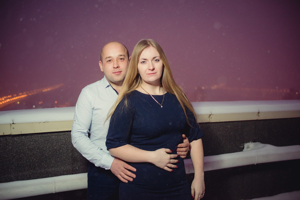 История предложения руки и сердца на крыше, Киев 23