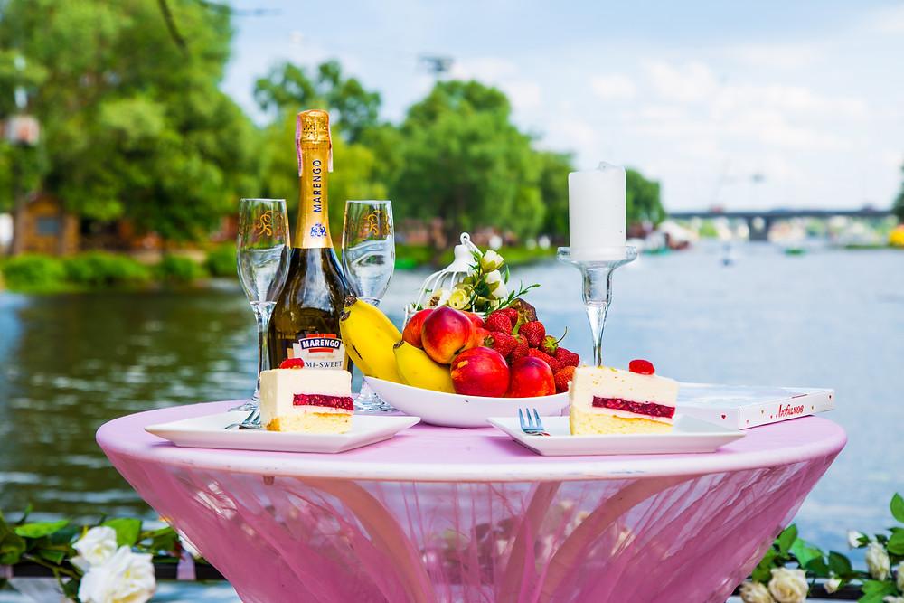 Романтический ужин на пляже, Киев, Сервис романтики Альтечо
