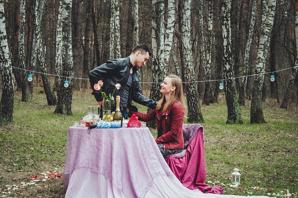 Альтечо, романтический ужин в лесу с прогулкой на лошадях 12